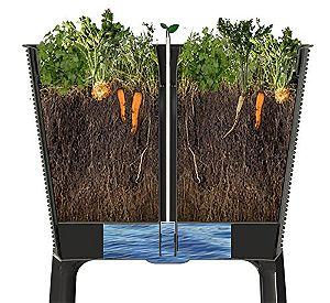 Easy Grow Garden Bed Cross Section