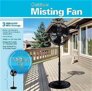 Holmes Outdoor Misting Fan