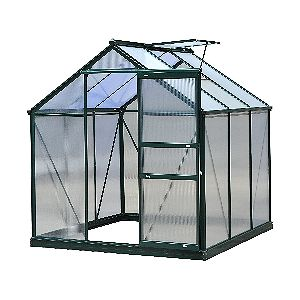 Outsunny Polycarbonate Portable Walk-In Garden Greenhouse