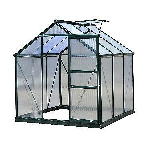 Outsunny Polycarbonate Portable Walk-In Garden Greenhouse