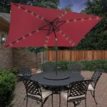 Trademark Innovations Rectangular Umbrella, BestChoice Products Rectangular  Umbrella