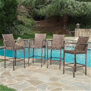 Great Deal Furniture Stewart In Mocha, The Best Outdoor Barstools