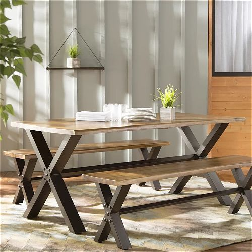 Laurel Foundry Modern Farmhouse Outdoor Dining Set