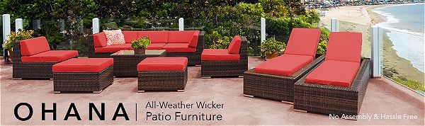 Ohana All Weather Wicker Collection