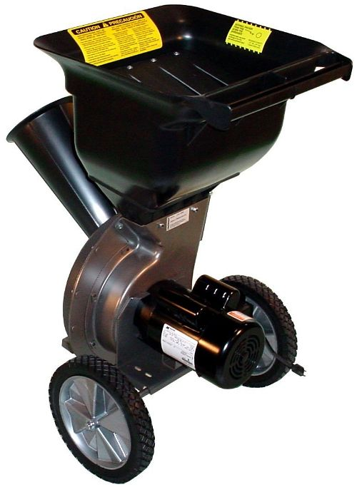 Patriot Products CSV-2515Electric Wood Chipper Leaf Shredder, the Best Garden Mulcher Available