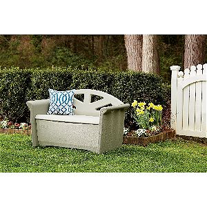 Declutter your Patio with an Outdoor Storage Bench - OutsideModern