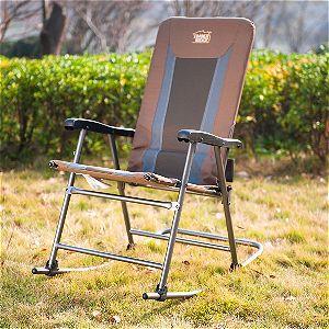 Timber Ridge Smooth Glide Lightweight Padded Folding Rocking Chair