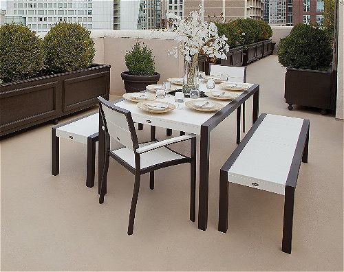 Trex Surf City Dining Set