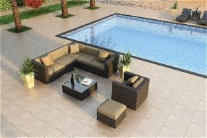 Urbana Sunbrella Sectional Set by Harmonia Living