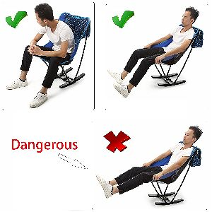 Yahill Portable Ultralight Collapsible Moon Leisure Camping rocker Uses
