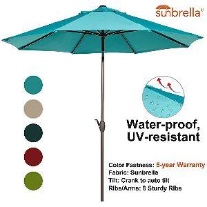 Abba Patio 9ft Commercial Umbrella
