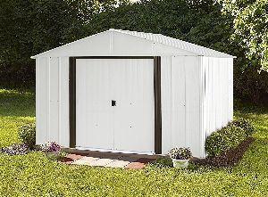 Arrow Arlington High Gable Steel Storage Shed