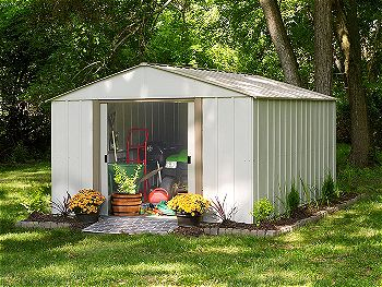 Arrow Oakbrook High Gable Steel Storage Shed