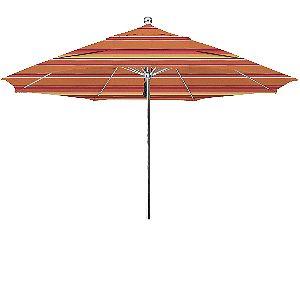 California Umbrella 11ft Stainless Commercial Umbrella Dolce Mango