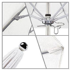 California Umbrella Stainless Steel Detail