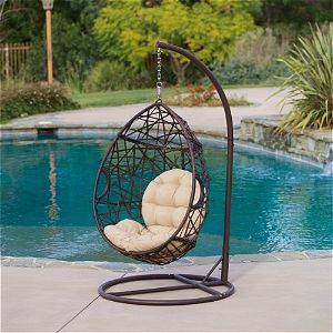 Chistopher Knight Tear Drop Hanging Chair
