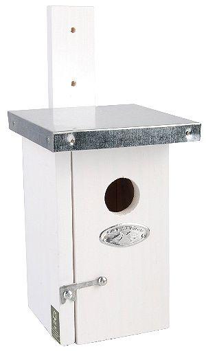 Esschert Design Wren Nesting Box - White