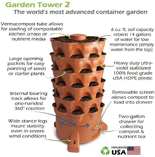 Garden Tower 2 Review A Cool Compost Tower Outsidemodern