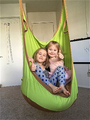 HappyPie Frog Swing Seat, the Best Kids Hanging Chair Pod