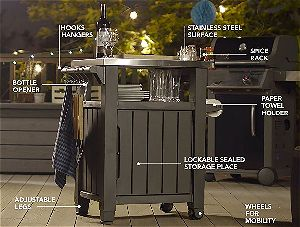 Keter Unity, the Best Outdoor Prep Station