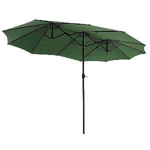 Le Papillon 14 ft Patio Umbrella Green
