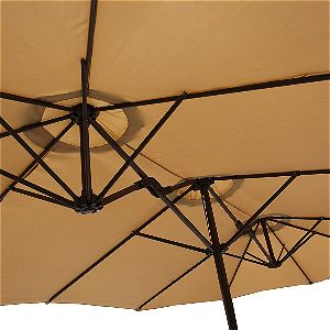 Le Papillon 14 ft Umbrella Ribs Detail