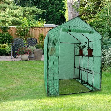Ohuhu Large Walk-in Plant Greenhouse, 3 Tiers 12 Shelves