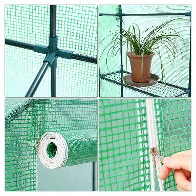 Ohuhu Large Walk-in Plant Greenhouse Details