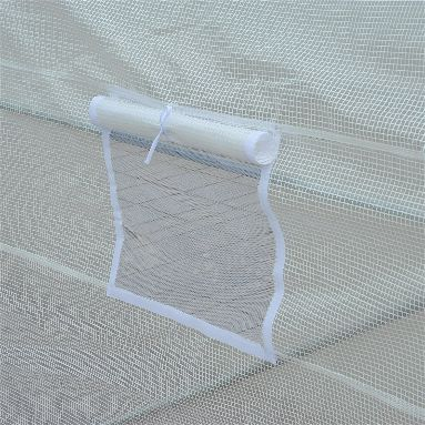 Outsunny 11' x 10' x 7' Portable Greenhouse Vent Detail'