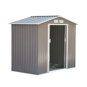Outsunny Metal Tool Shed