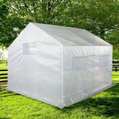 Quictent 2 Doors Portable Greenhouse