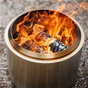 Solo Stove Bonfire Review: Flame Output