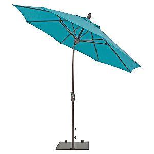 TrueShade Plus Market Outdoor Umbrella with Sunbrella Fabric