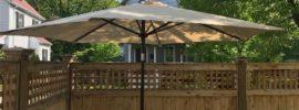 9ft Abba Patio Tilting Umbrella