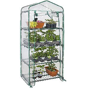 Best Choice Products 4-Tier Mini Greenhouse