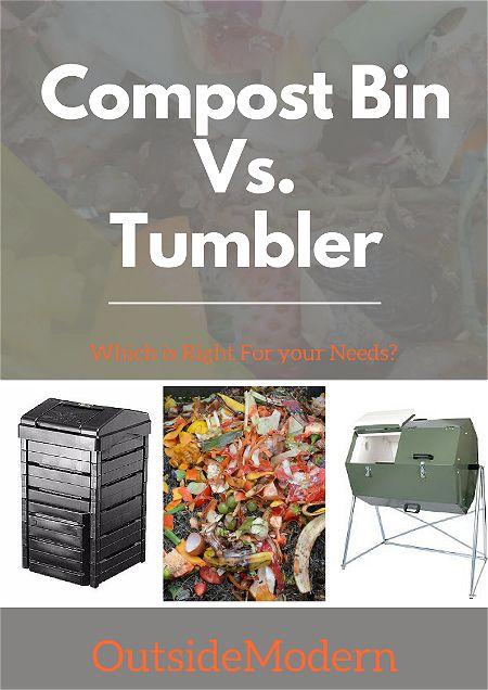 Compost Bin vs Tumbler