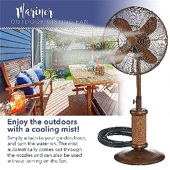 Dynamic Collections Mariner Pedestal Fan