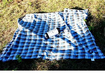 Extra Large Flannel Outdoor Blanket