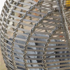 Island Bay Kambree Egg Chair Wicker Detail