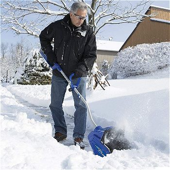 Snow Joe iON13SS 40-volt Cordless Snow Shovel with Rechargeable Ecosharp Lithium-ion Battery- 13-Inch