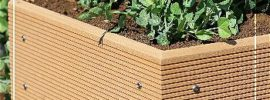 EcoGardener Composite Garden Bed