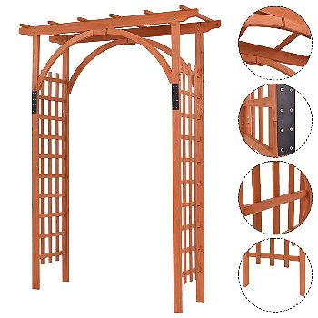 Giantex 85in Arbor, the Best Wooden Arbor Available