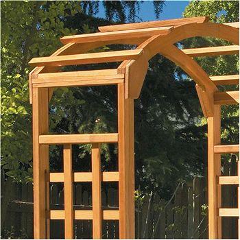 Greenstone Arbor Arch Detail