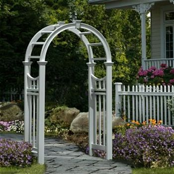 New England Arbors Vienna, the Best Vinyl Arbor