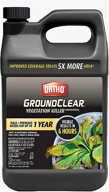 Ortho GroundClear, the Best Patio Weed Killer