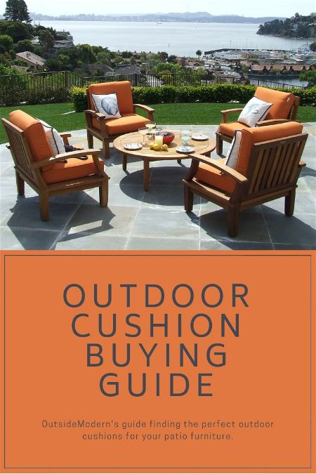 Outdoor Cushion Buying Guide