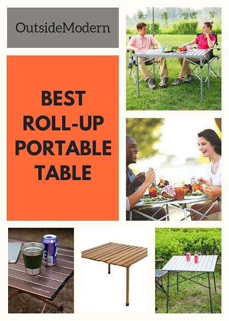 Roll-Up Portable Table