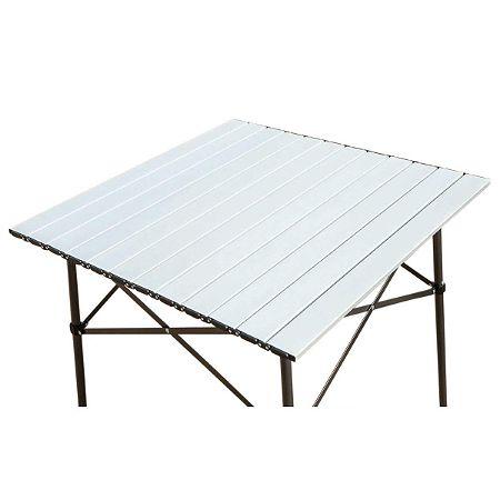 Timber Ridge Portable Roll-Up Aluminum Fold-Up Table