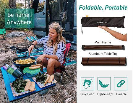 Trekology Portable Roll-Up Table