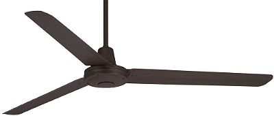 Casa Vieja Turbina Oil-Rubbed Bronze Ceiling Fan 60in